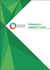 Submissions to Legislative Council