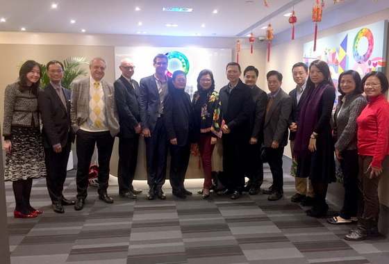 HKIUD delegates visit Our Hong Kong Foundation